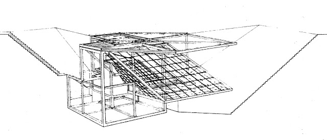 Peter Eisenman, House El Even Odd, 1980.