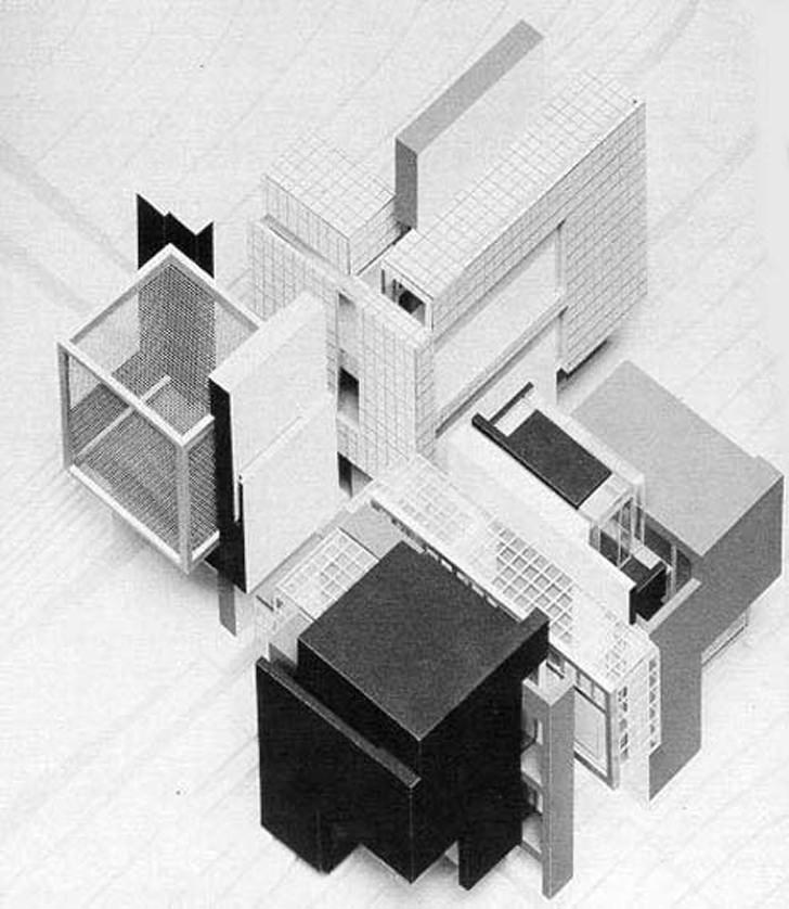 Peter Eisenman, House X, 1975.