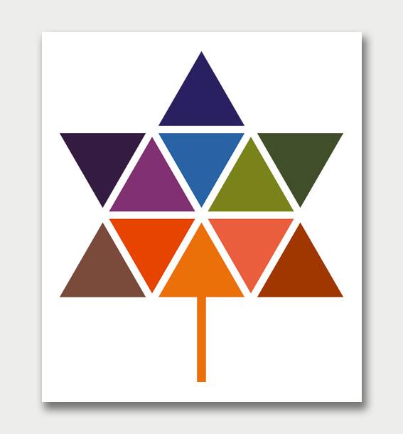 Canadian Confederation Centennial logo, Stuart Ash, 1966