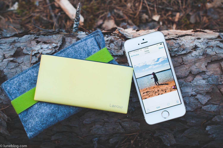 Poki external battery iPhone gear review lune travel blog