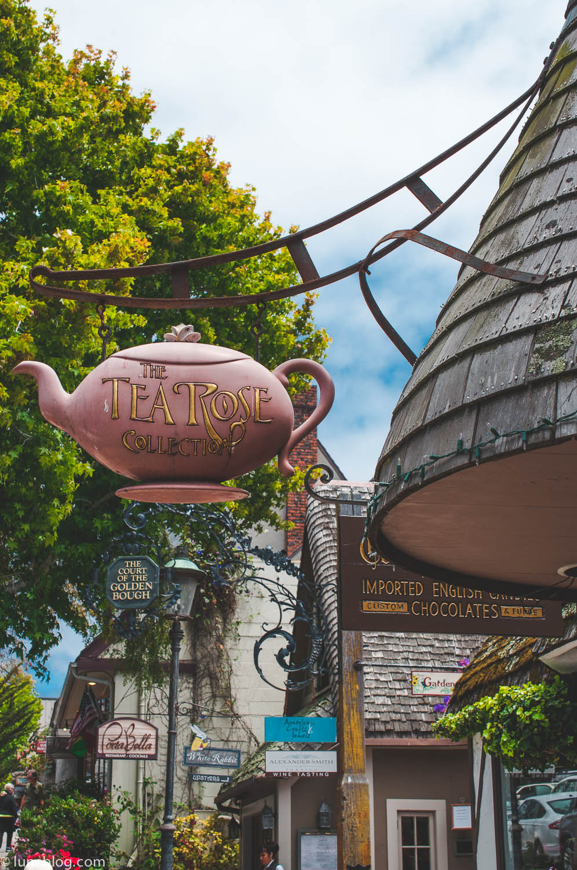 carmel by the sea tea rose house lune travels blog