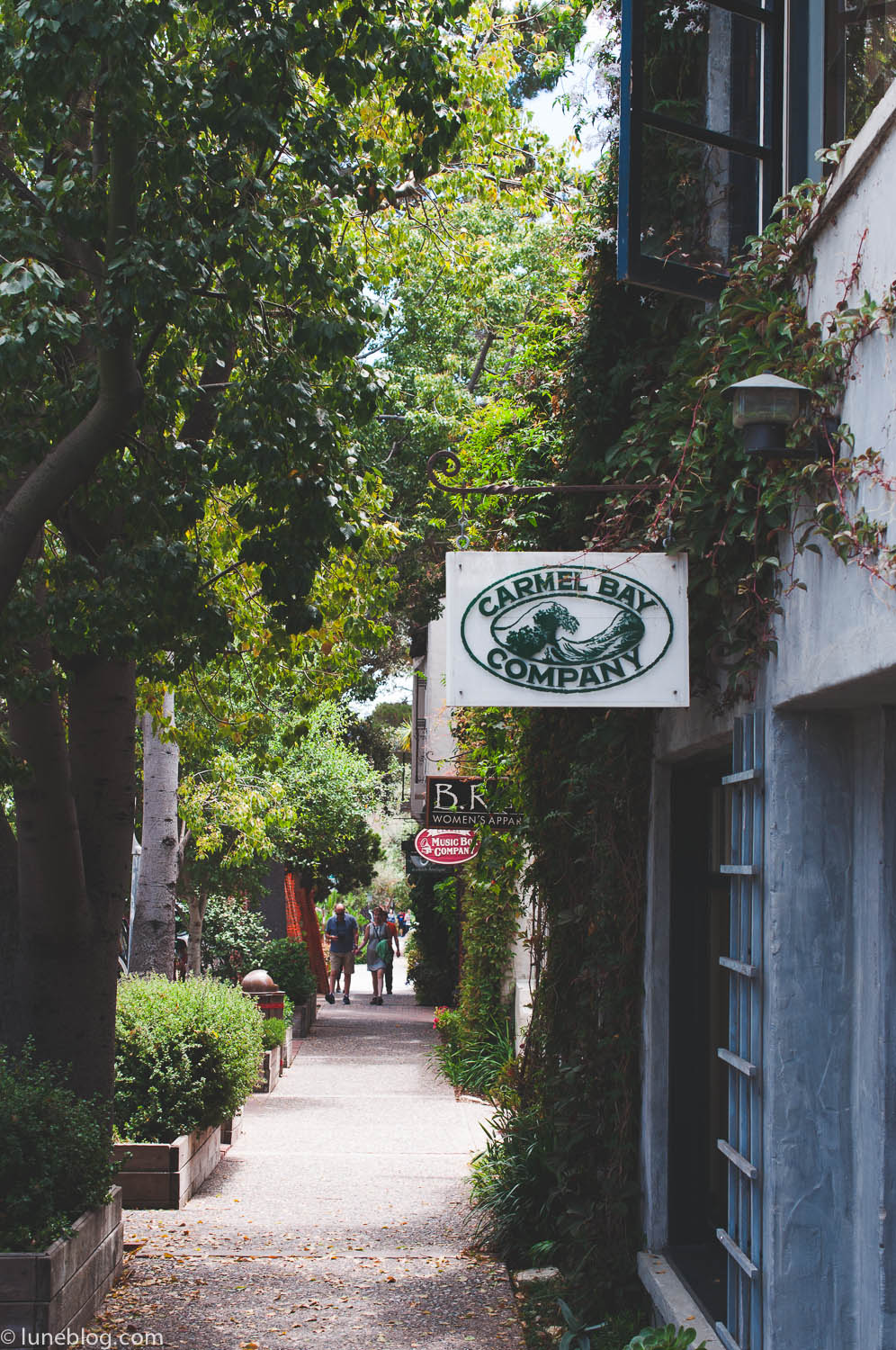 carmel by company the sea lune travels blog
