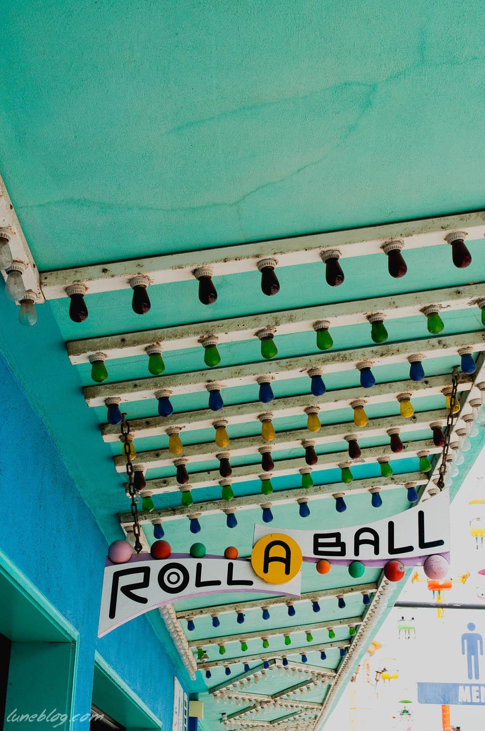 roll a ball santa cruz vintage games