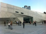 Click photo to download. Caption: The Herta and Paul Amir Building of the Tel Aviv Museum of Art. Credit: PikiWiki Israel.