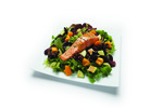 Click photo to download. Caption: A salmon salad from the Kosher Fresh Diet. Credit: The Kosher Fresh Diet.