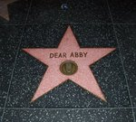 """Click photo to download. Caption: The """"Dear Abby"""" star on the Hollywood Walk of Fame. Credit: Wikimedia Commons."""