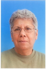 Click photo to download. Caption: Pakistan-born Zvia Epstein, nearing 70, is a retired teacher and education inspector living in Rehovot. Credit: Courtesy Zvia Epstein.