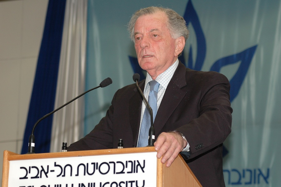 Itamar Rabinovich, former Israeli ambassador to the U.S. and president of Tel Aviv University, is heading the new Israel Institute. Credit: Courtesy Israel Institute.