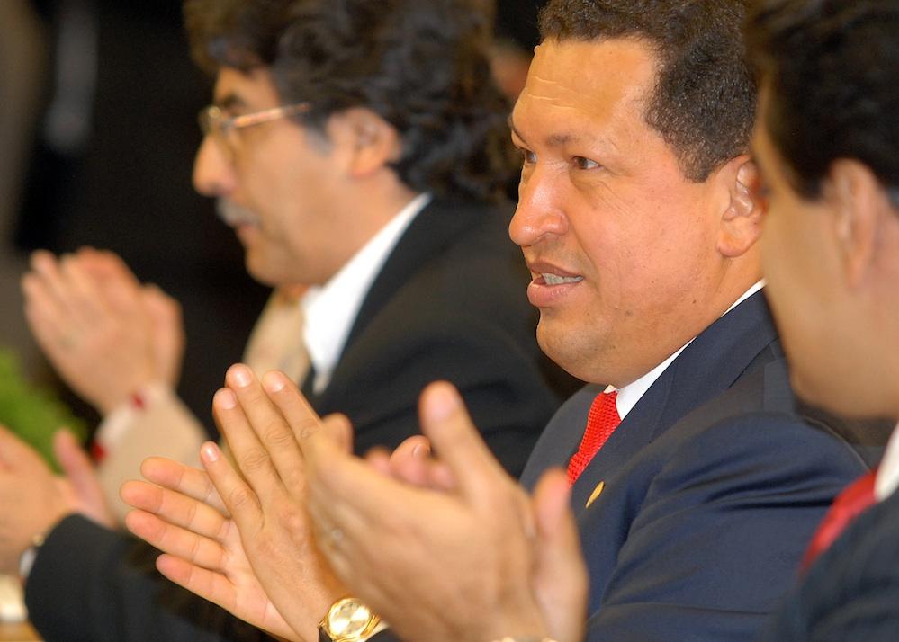 Hugo Chavez. Credit:Antônio Cruz/ABr.