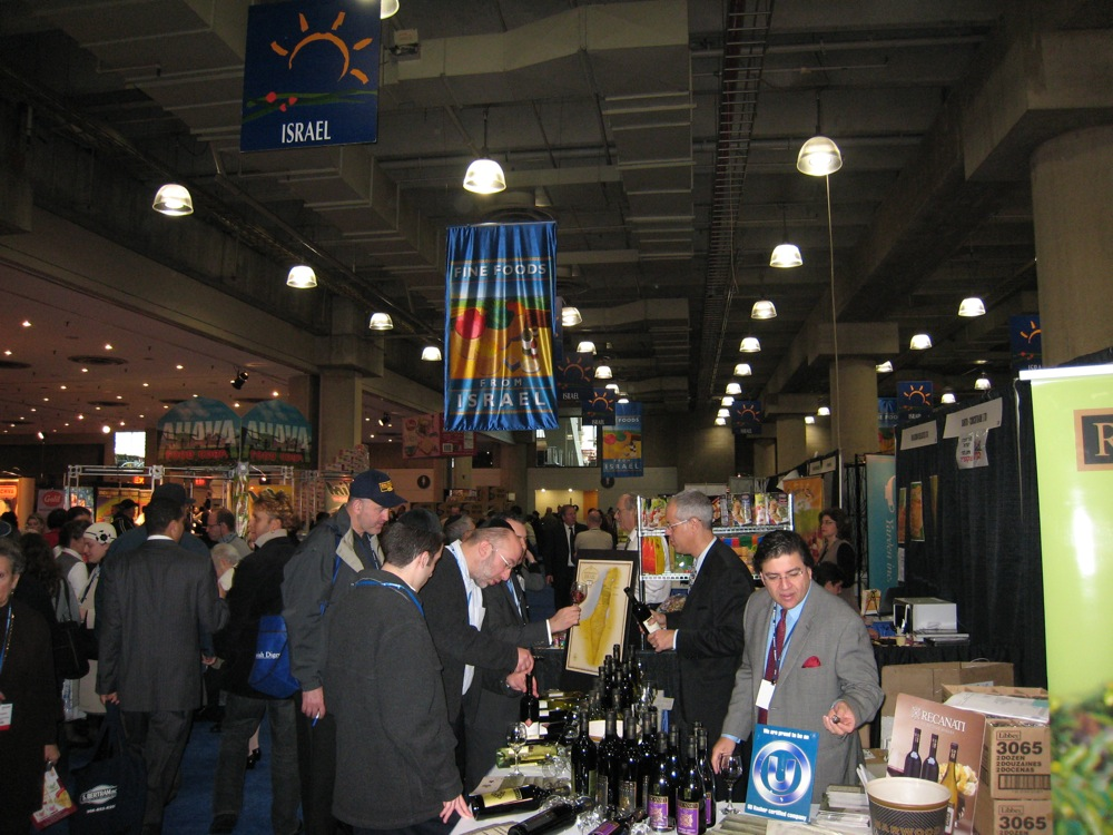 Click photo to download. Caption: The crowd at Kosherfest in Secaucus, NJ. Credit: Kosherfest.)