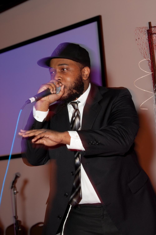 Click photo to download. Caption: Reuben Formey performing. Credit: Courtesy Reuben Formey.