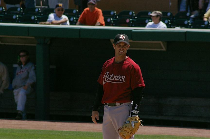 Click photo to download. Caption: Former Major League catcher Brad Ausmus. Credit: Adam Baker.