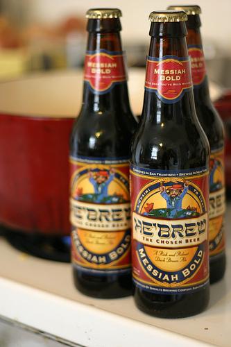 Click photo to download. Caption: Shmaltz's Messiah Bold brew. Credit: Amuggle.