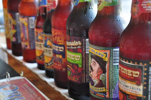Click photo to download. Caption: Shmaltz bottles. Credit: Amuggle.