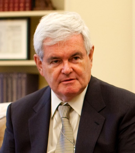 Click photo to download. Caption: Newt Gingrich. Credit: PD.
