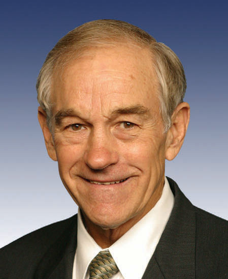 Click photo to download. Caption: Ron Paul. Credit: PD.