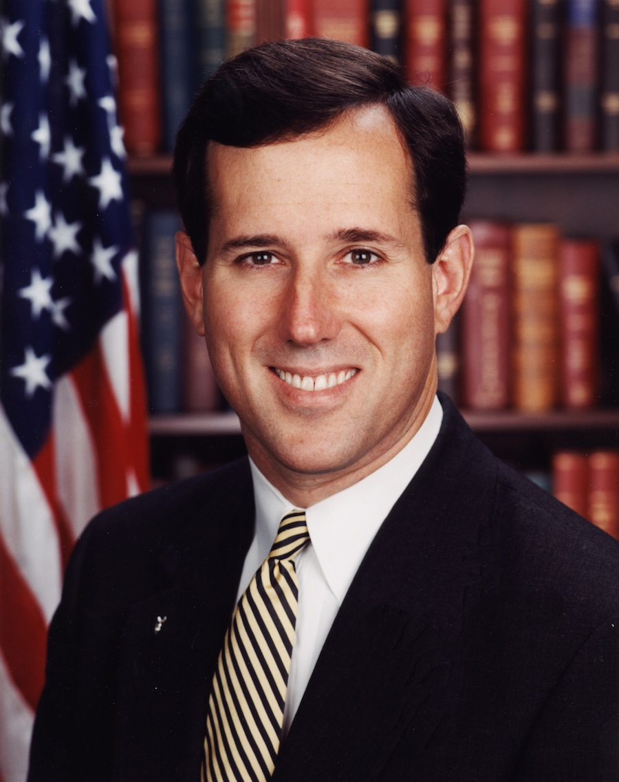 Click photo to download. Caption: Rick Santorum. Credit: PD.