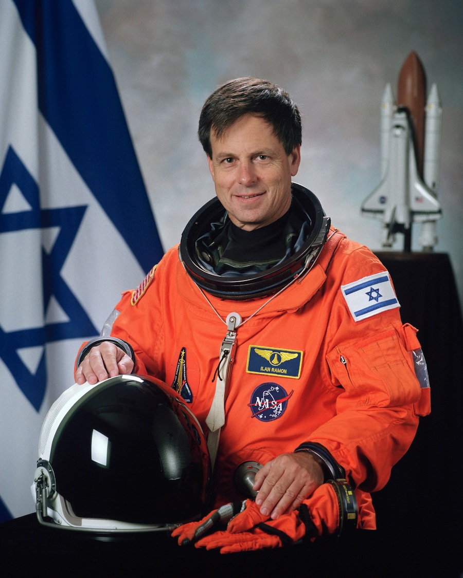 Click photo to download. Caption: Ilan Ramon, the first Israeli astronaut. Credit: NASA.