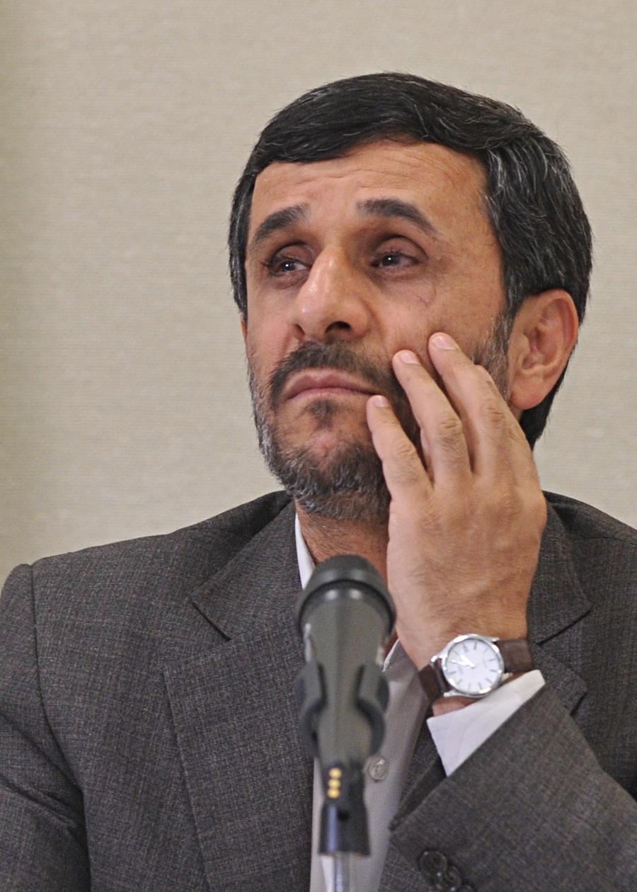 Click photo to download. Caption: Mahmoud Ahmadinejad. Credit: PD.