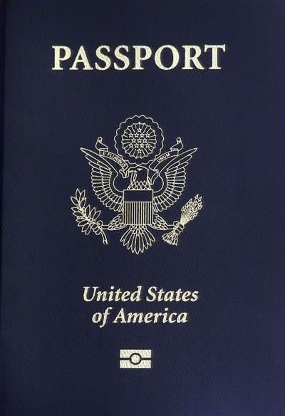 Click photo to download. Caption: A U.S. passport. Credit: Robert Rexach.
