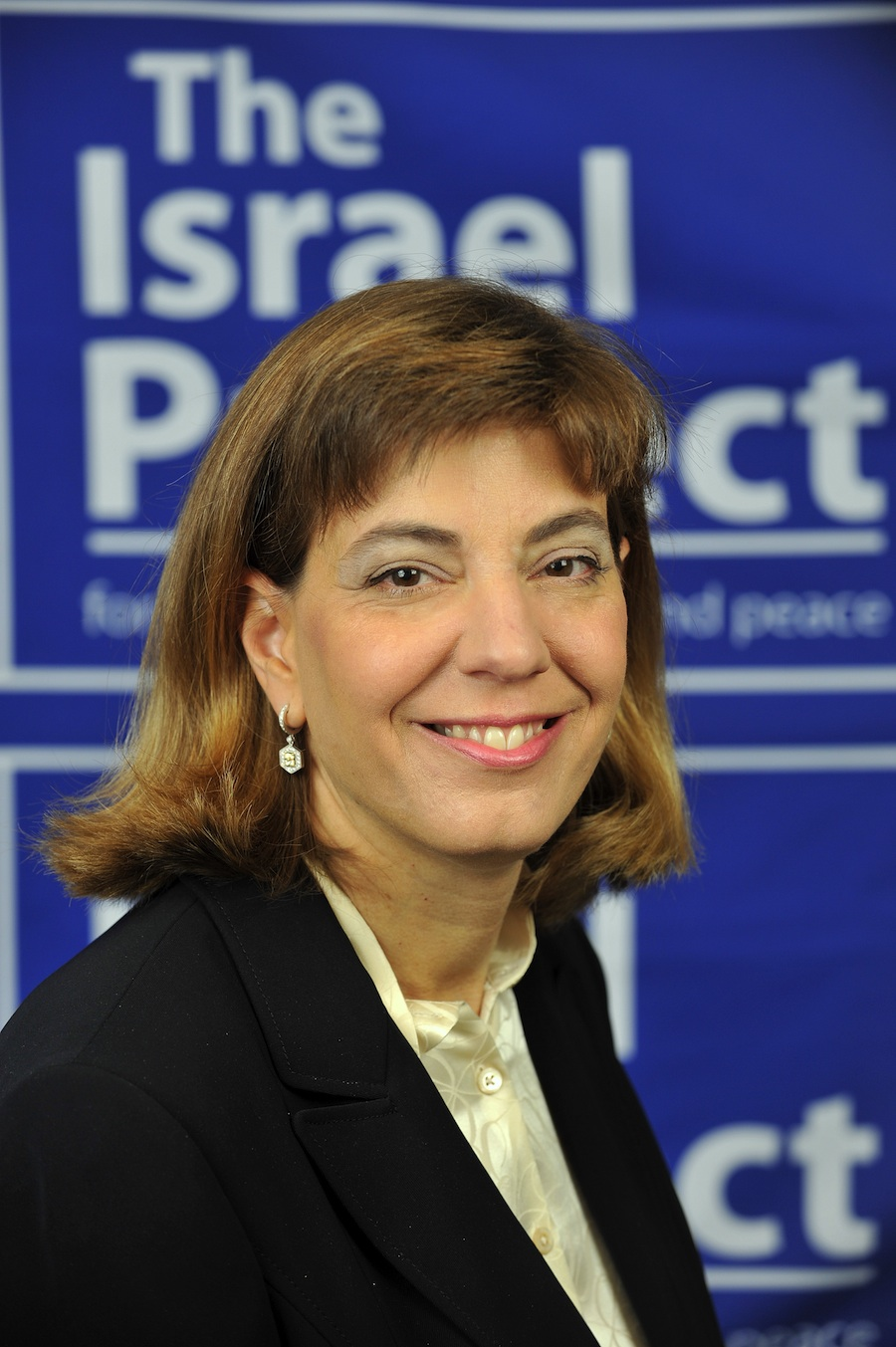 Click photo to download. Caption: Jennifer Laszlo Mizrahi. Credit: The Israel Project.