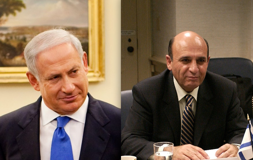 Click photo to download. Caption: Benjamin Netanyahu and Shaul Mofaz recently formed a Likud-Kadima unity government in Israel. Credit: PD.