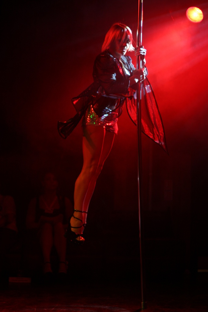 Click photo to download. Caption: A pole dancer. Credit: Litonali.