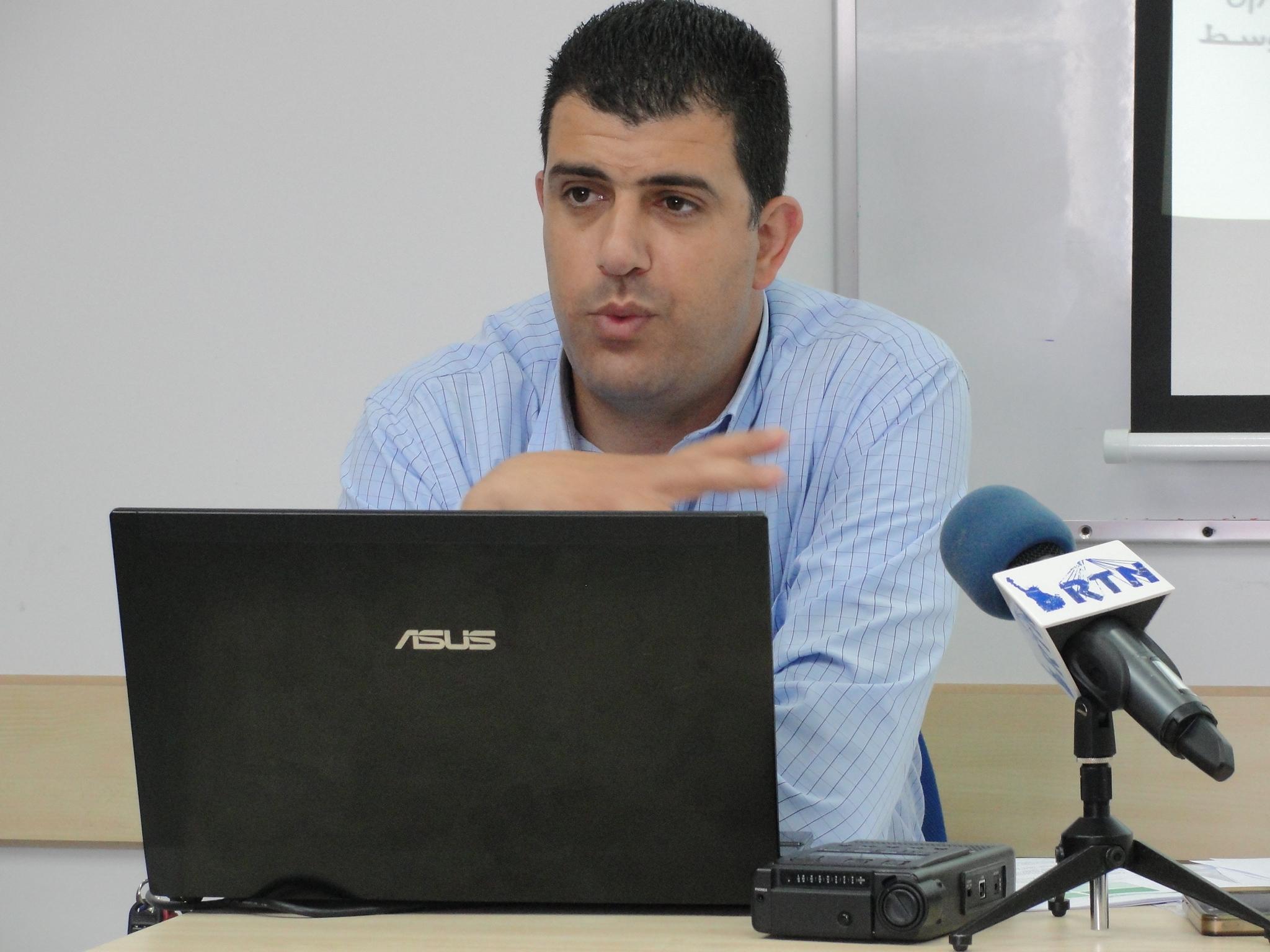 Click photo to download. Caption: Ibrahim Habib, Director of Regional Development, Authority for Economic Development of Arab, Circassian, Druze Sector Credit: Judy Lash Balint.