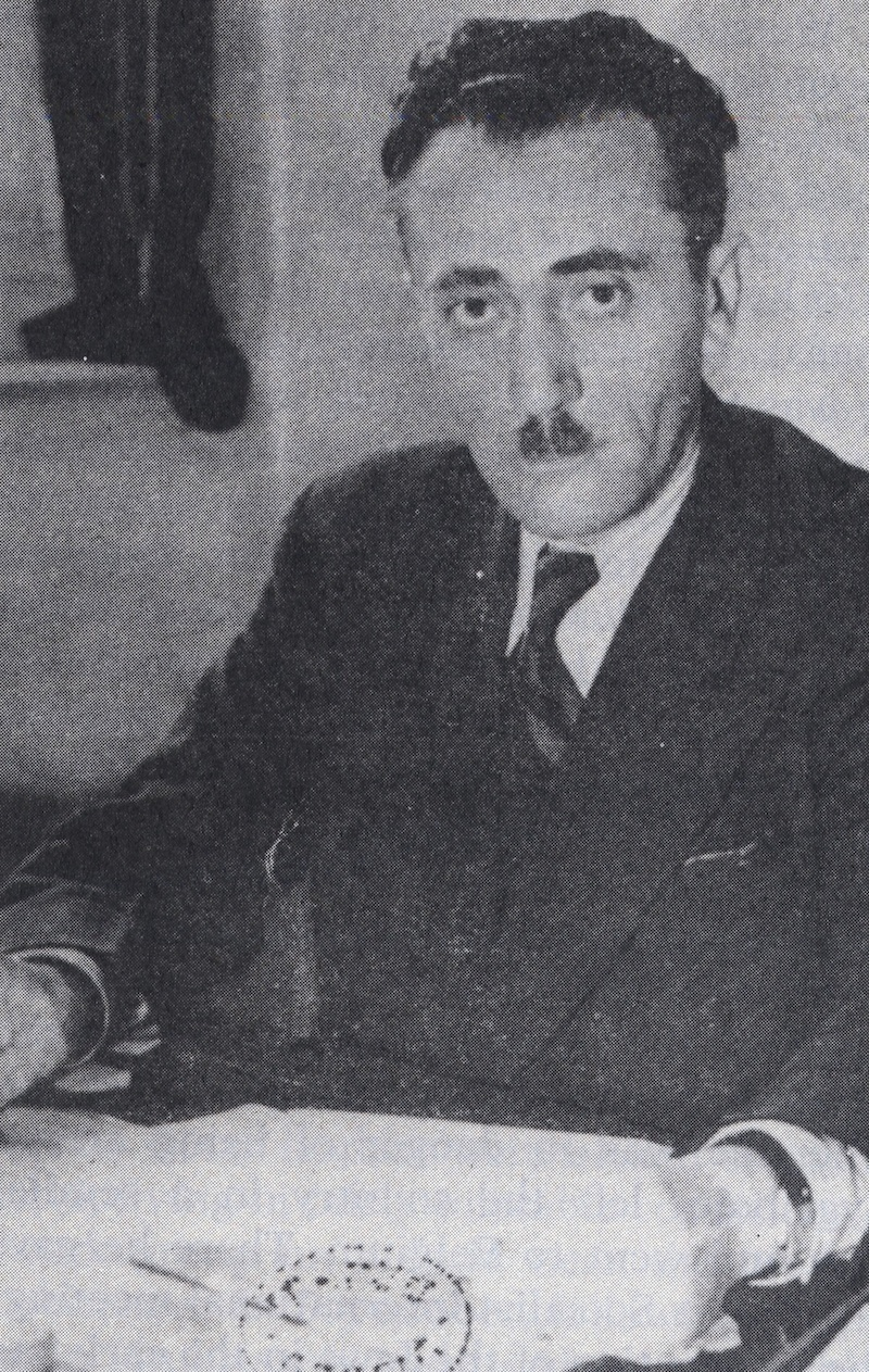 Click photo to download. Caption: Shmuel Zygelbojm, a Jewish member of the London-based Polish Government in Exile, played a major role in publicizing the Bund Report. Credit: Courtesy of The David S. Wyman Institute for Holocaust Studies