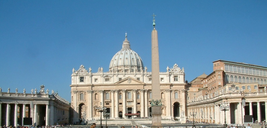 Click photo to download. Caption: Saint Peter's Basilica in the Vatican City. Popes John XXIII and John Paul II were symbols of a new attitude of friendship with the Jewish people that culminated in the Vatican recognizing the State of Israel, explains JNS.org columnist Jonathan Tobin. Credit: Radomil.