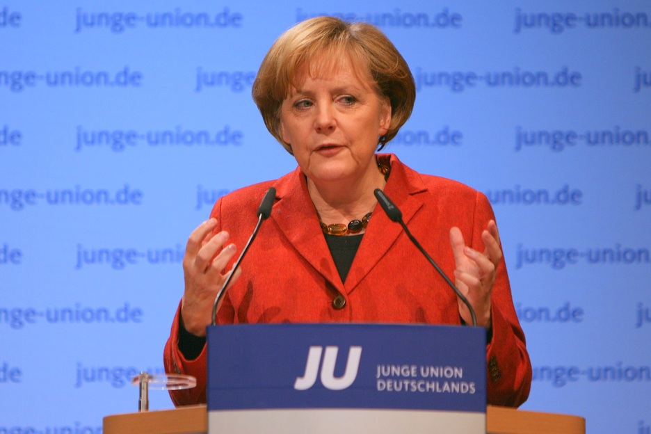 Click photo to download. Caption: While German Chancellor Angela Merkel (pictured) has vowed that the German parliament will pass legislation legalizing circumcision in the fall, negotiations over the language of such a bill have revealed that many in the Bundestag may push for restrictions on the practice such as forcing the use of anesthetics or requiring a doctor to be present. Credit: Jacques Grießmayer.
