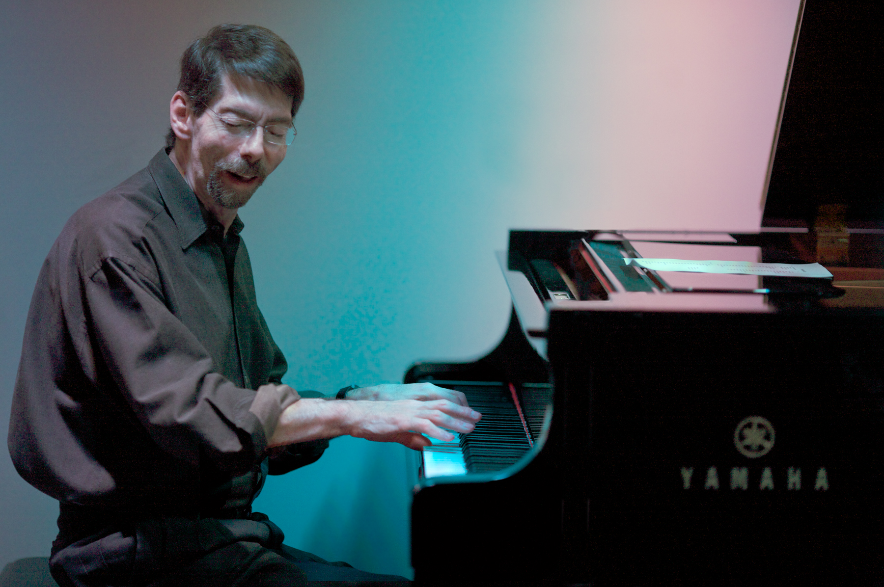 Click photo to download. Caption: Fred Hersch. Credit: Michael Jackson.