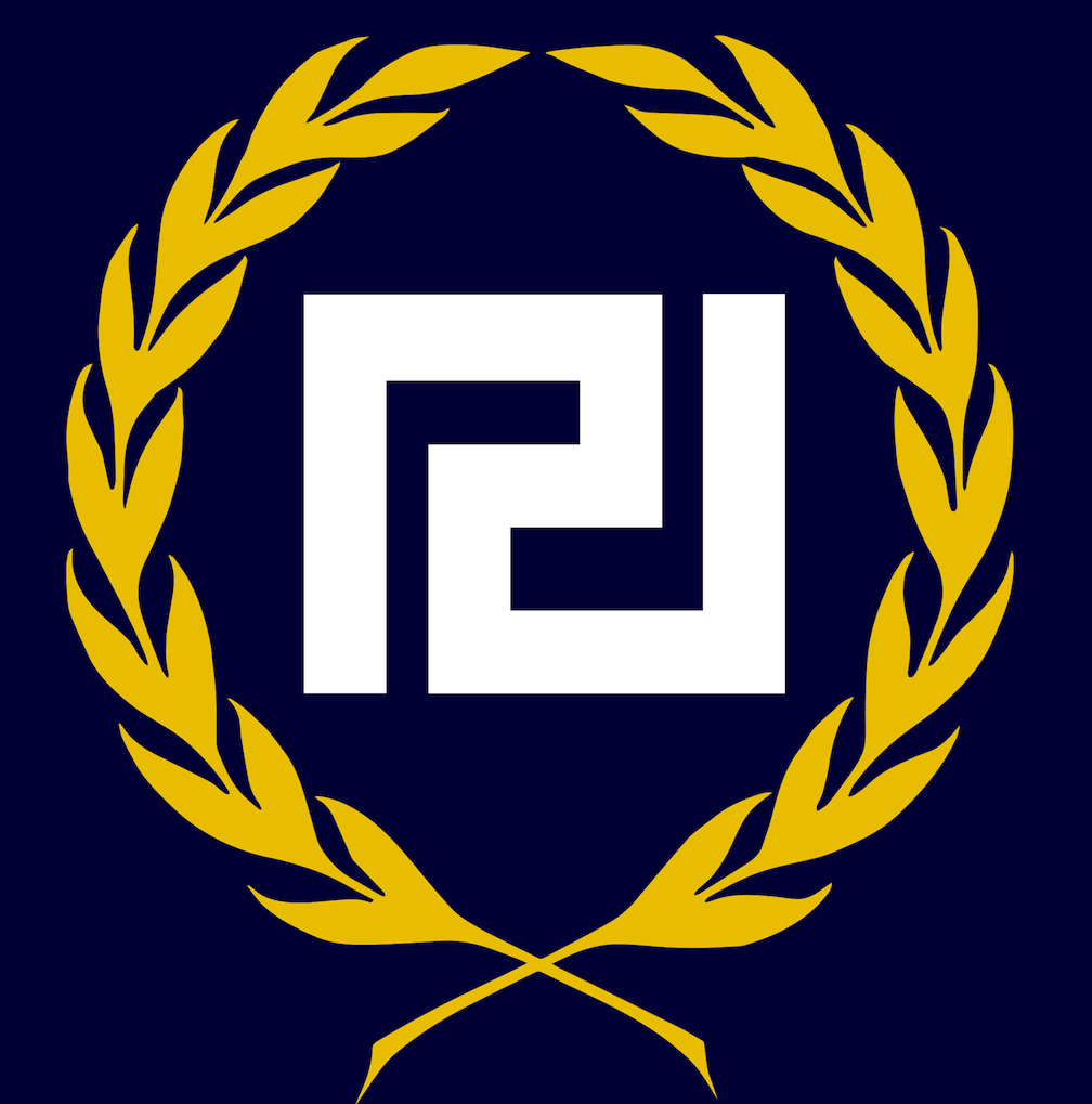 Click photo to download. Caption: The Golden Dawn logo. Credit: Wikimedia Commons.