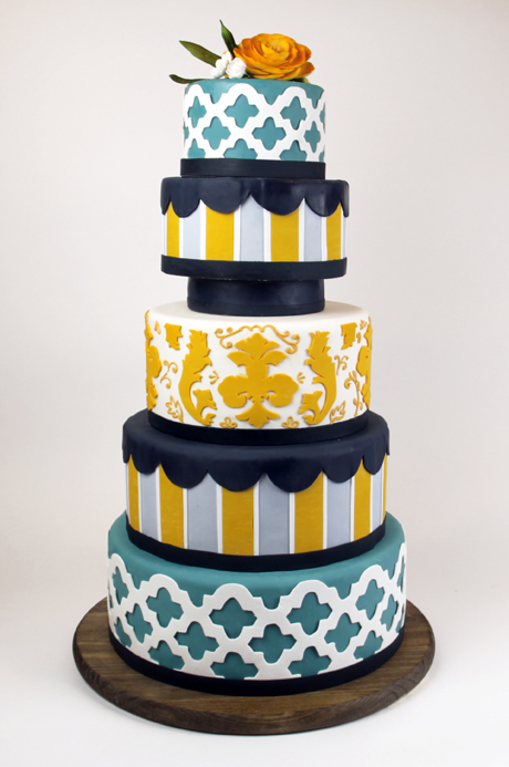 """Click photo to download. Caption: A cake named """"August"""" from Duff Goldman's Charm City Cakes. Credit: Charm City Cakes."""