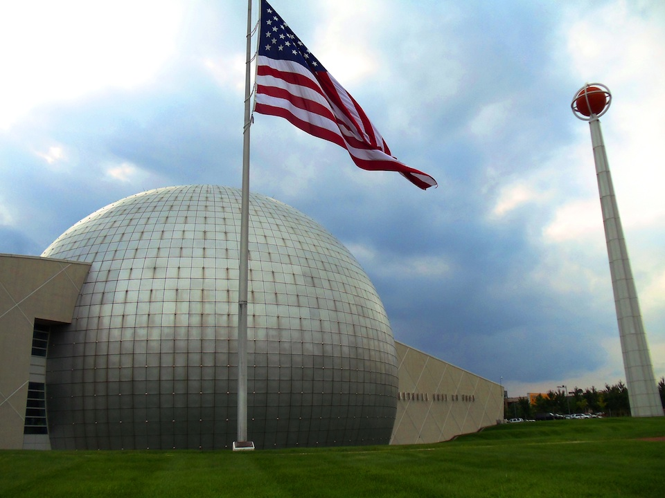 Click photo to download. Caption: The Naismith Memorial Basketball Hall of Fame in Springfield, Mass., where 27 Jews are enshrined. Credit: Rizha Ubal/Wikimedia Commons.