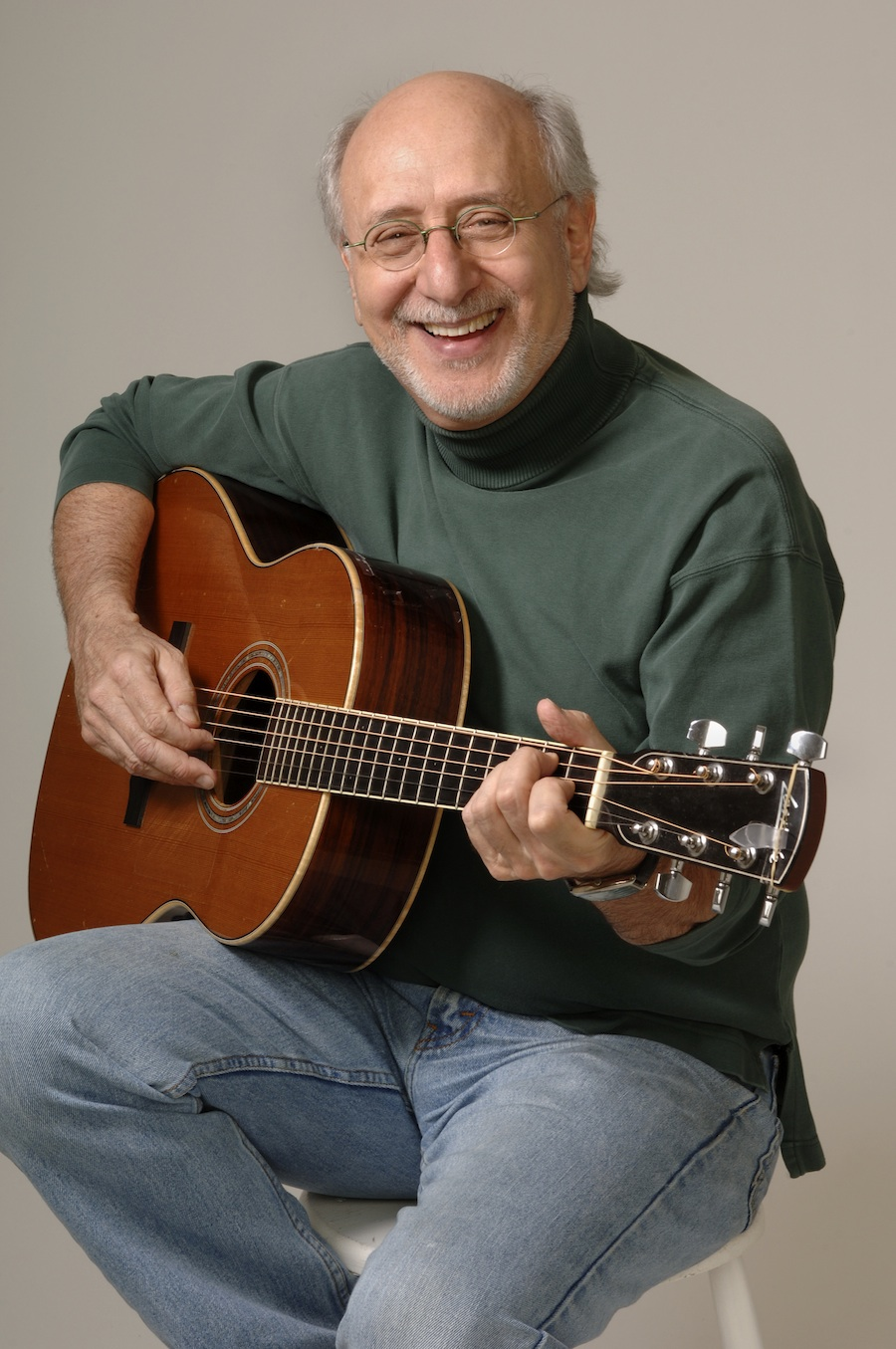 """Click photo to download. Caption: Yarrow's Hanukkah song, """"Light One Candle"""", came across as too earnest for popular taste. Credit: Courtesy Peter Yarrow."""