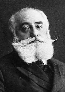 Click photo to download. Caption: Max Nordau, founder of the Jewish athletic movement,