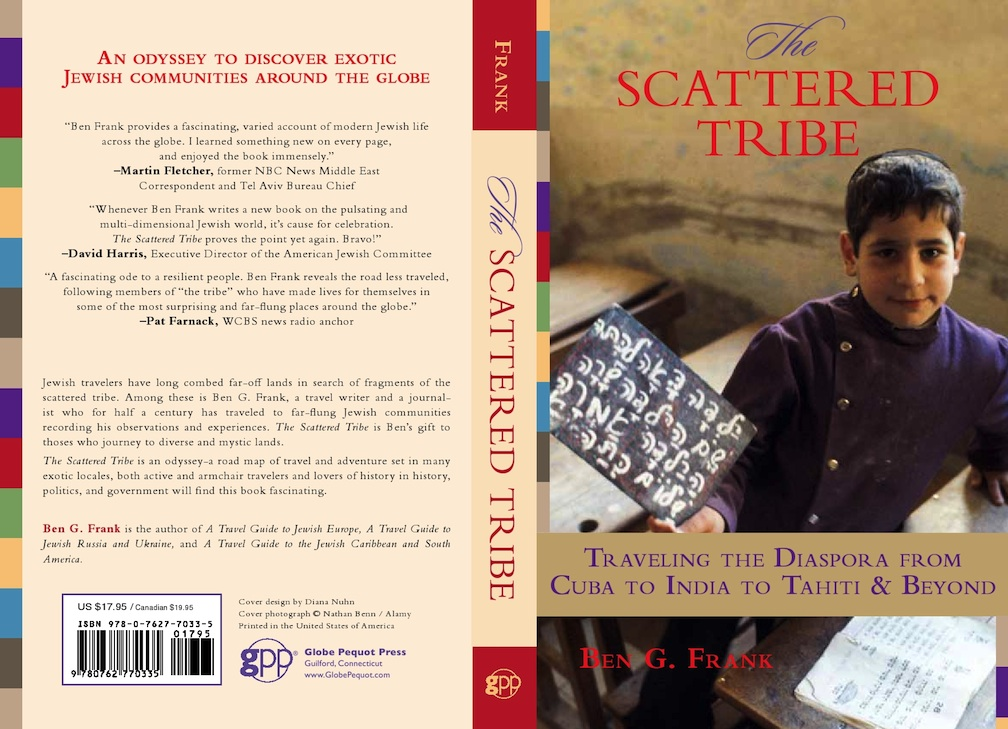 """Click photo to download. Caption: The front and back covers of Ben G. Frank's """"The Scattered Tribe."""" Credit: Ben G. Frank."""