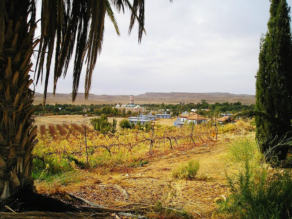 Click photo to download. Caption: Kibbutz Neot Semander in the Negev. Credit: JanuManu/Wikimedia Commons.