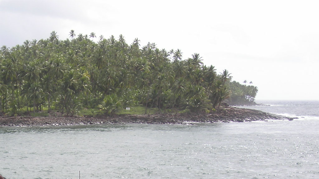 Click photo to download. Caption: Devil's Island in the Guianas. Credit: Wikimedia Commons.