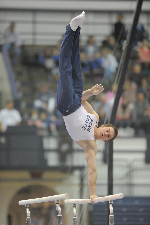 Click photo to download. Caption: Felix Aronovich. Credit: PSU Athletics/Mark Selders.