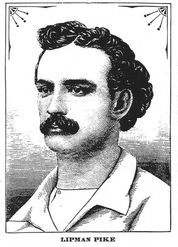"""Click photo to download. Caption: Lipman Pike, known in 19th century-baseball as the """"Iron Batter."""" Credit: Courtesy Peter Horvitz."""