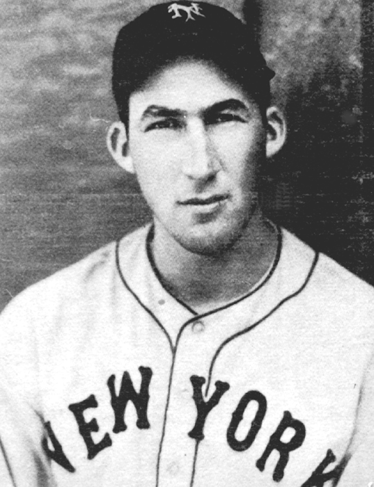 Click photo to download. Caption: Jewish baseball player Harry Danning. In 1934, a Florida hotel initially refused entry to Danning and fellow Jew Phil Weintraub during spring training, but eventually backed down. Credit: Courtesy Peter Horvitz.