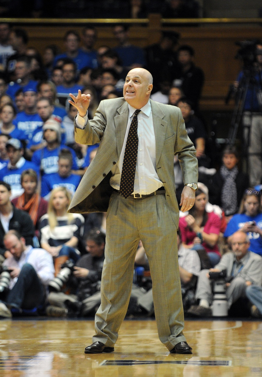 Click photo to download. Caption: Coach Seth Greenberg. Credit: Virginia Tech.