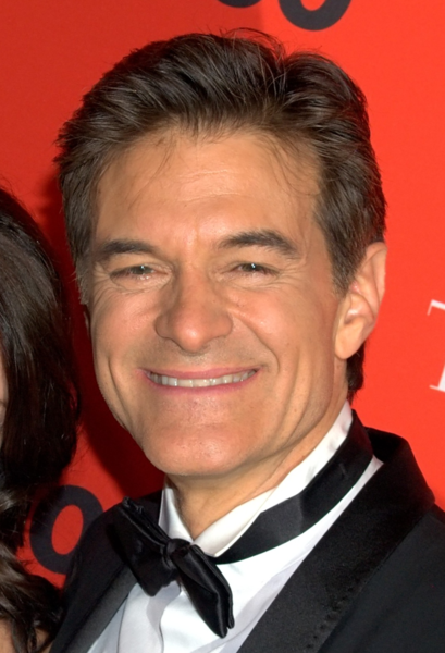 """Dr. Mehmet Oz or """"Dr. Oz as he is known. Credit: Wikimedia Commons."""