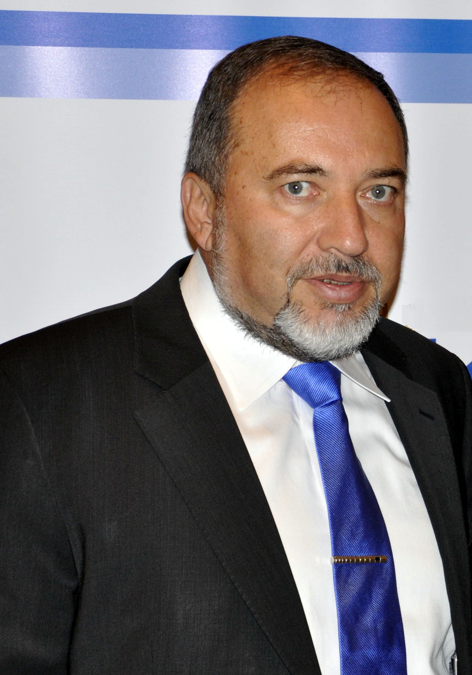 Avigdor Lieberman, pictured, said the Palestinian Authority's failure to condemn an IDF soldier's murder means the PA does not seek peace with Israel. Credit: Michael Thaidigsmann via Wikimedia Commons.