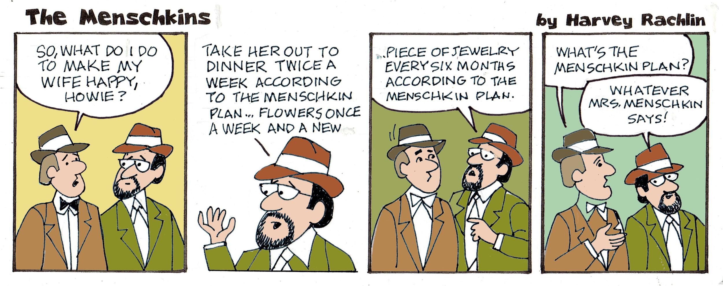 The Menschkin Plan