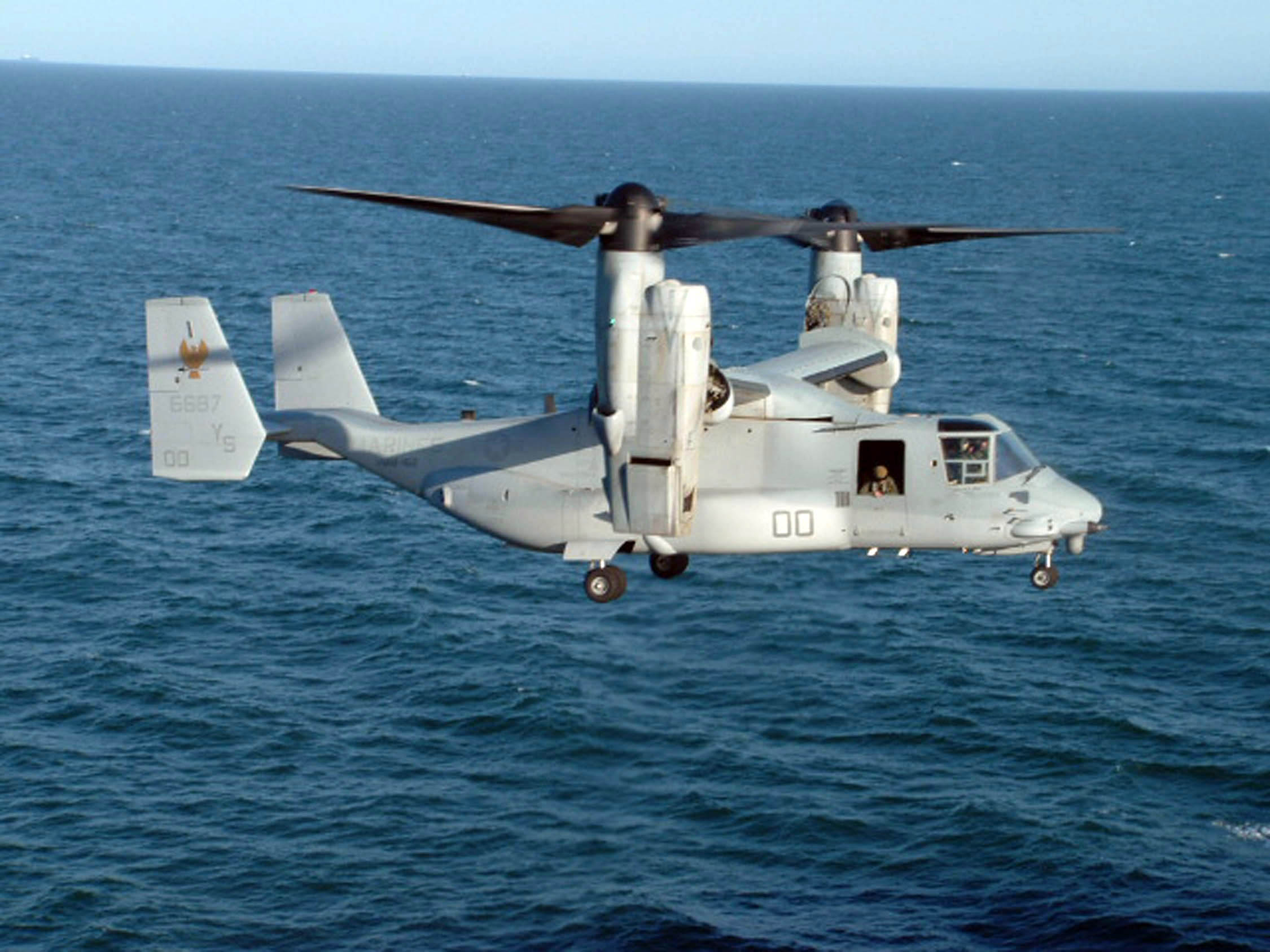 The V-22 Osprey. Credit: U.S. Navy photo by Lt. j.g. Anthony Falvo.