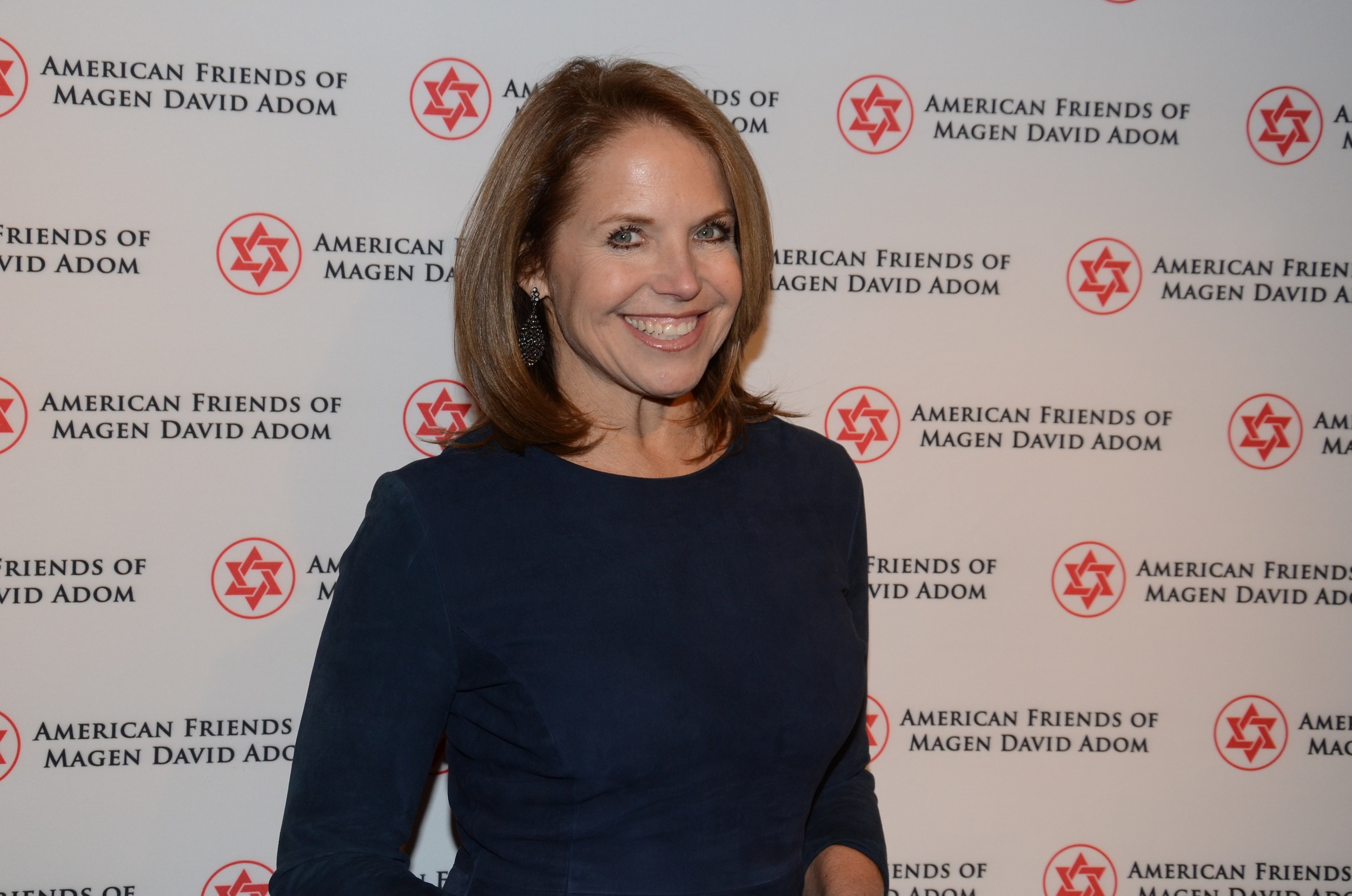 Katie Couric at the Dec. 9 fundraiser for Magen David Adom in New York City. Credit: Howard Wechsler.