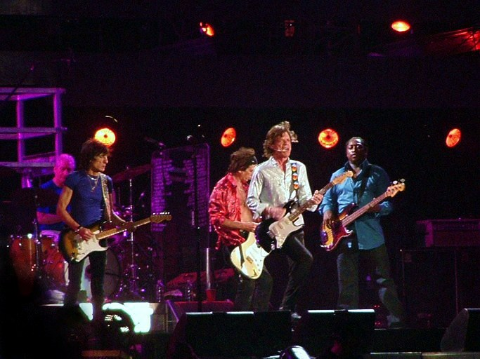 The Rolling Stones. Credit: Wikimedia Commons.